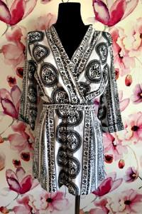 boohoo kombinezon damski modny wzór ornament jak nowy 40...