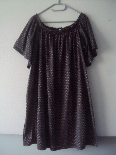 Suknie i sukienki Sukienka tunika hiszpanka