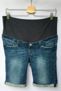 Spodenki Ciążowe H&M Mama Szorty Dzinsowe L 40 Jeans