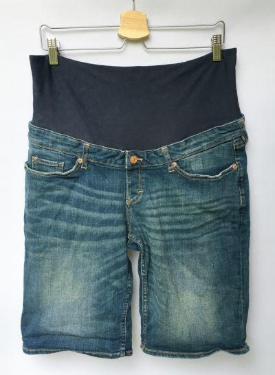 Spodenki Spodenki Ciążowe H&M Mama XL 42 Szorty Dzinsowe Jeansowe