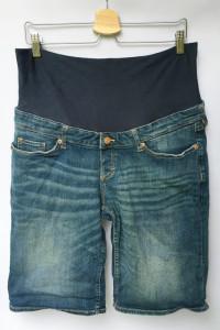 Spodenki Ciążowe H&M Mama XL 42 Szorty Dzinsowe Jeansowe...