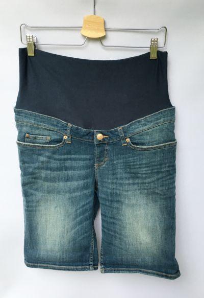 Spodenki Spodenki Ciążowe Dzinsowe H&M Mama Jeans M 38 Dzins
