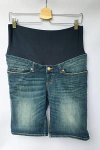 Spodenki Ciążowe Dzinsowe H&M Mama Jeans M 38 Dzins...