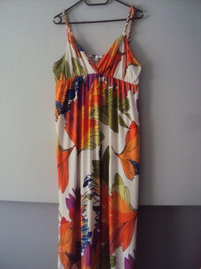 Suknie i sukienki letnia sukienka maxi