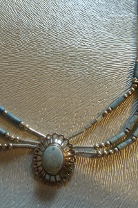 naszyjnik srebrny Navajo