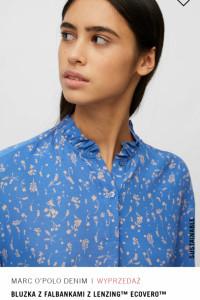 Bluzka Marc O Polo świetny wzór i kolor koszula w kwiaty S M L...