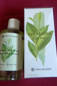 Yves Rocher Zielona herbata Eau Fraiche The Vert zestaw