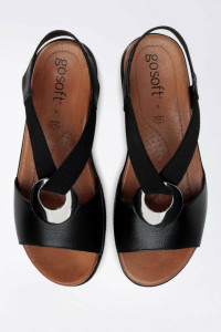 Sandały z ozdobą
