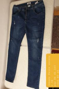 spodnie jeansowe rozmiar 34...