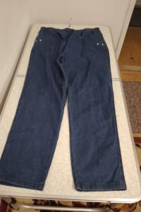 Szare spodnie damskie w pasie na gumie rozmiar 50
