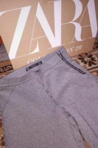 Spodnie chinosy do kostek marka Zara rozmiar S...