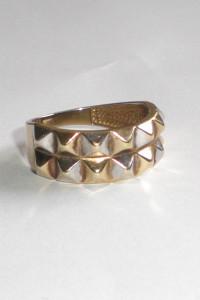 Piękny pierścionek złoto 333