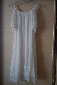 Letnia damska biała sukienka