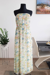 kolorowa sukienka w kwiaty New Look 28 zł...