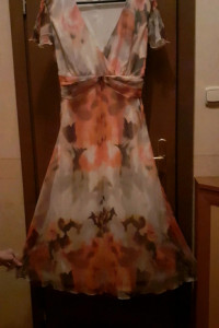 sukienka jedwabna...