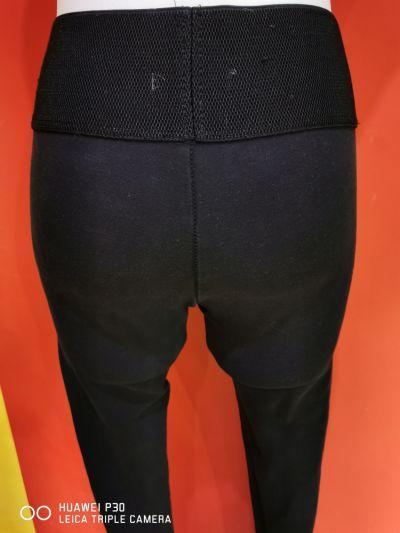 Spodnie Spodnie szeroką guma pas wyższy stan