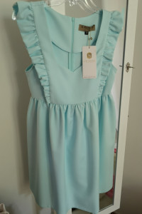Sukienka La Manuel Wings błękitna...