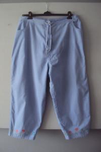 bawełnine spodnie rybaczki...