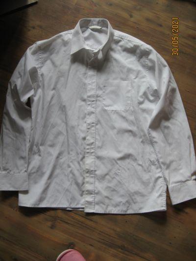 Pozostałe Biała koszula Marks Spencer rozmiar 158