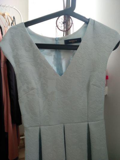 Suknie i sukienki Błękitna sukienka rozmiar S