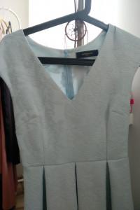 Błękitna sukienka rozmiar S...