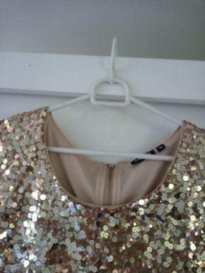 Suknie i sukienki Cekinowa sukienka 38