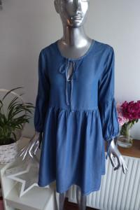 Diverse Jeansowa Letnia Sukienka rozmiar M 38