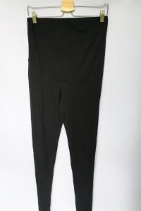 Legginsy H&M Mama Ciążowe Spodnie Rurki Czarne M 38 Ciąża...