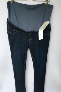 Spodnie Rurki Dzinsowe Ciążowe NOWE Noppies XL 42 33 Dzinsy...