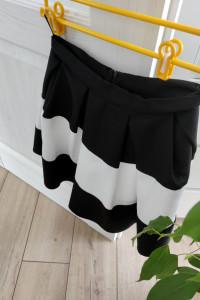 spódniczka czarno biała...