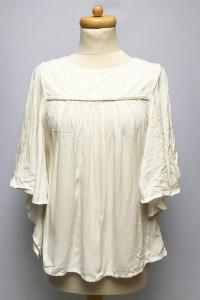 Bluzka BIała ONLY XL 42 Nowa Nietoperz Elegancka...