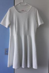 Paris fashion biała elegancka sukienka r 42...