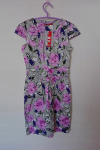 Sukienka ołówkowa midi w kwiaty 36...