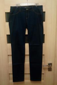 Spodnie damskie biodrówki granatowe Reserved W32 L34...