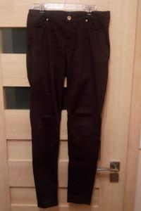 Spodnie damskie biodrówki ciemny fiolet bordo H&M...