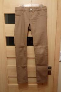 Spodnie damskie beżowe biodrówki TALLY WEiJL...