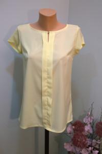 bluzeczka z pionową plisą S