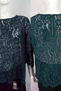 Zielona koronkowa bluzeczka...
