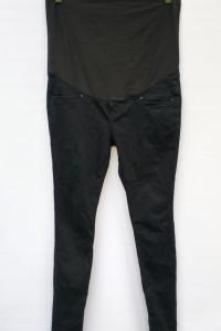 Spodnie Rurki H&M Mama Granatowa L 40 Tregginsy Dzinsowe...