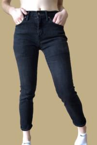 Jeansy czarne levis...