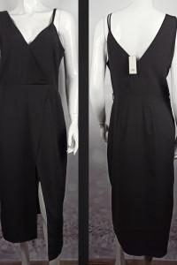 Piękna czarna sukienka midi...