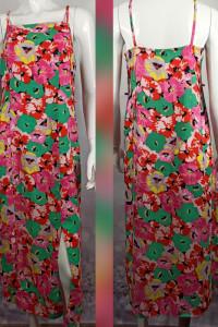 Piękna kolorowa sukienka...