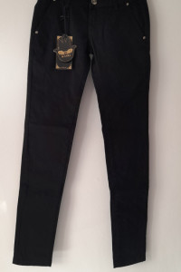 Czarne spodnie rurki skinny 34 36...