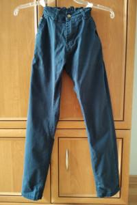 Eleganckie ciemnogranatowe spodnie