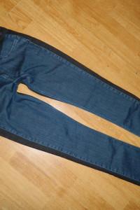 ICHI jeansowe spodnie czarno granatowe roz 28...