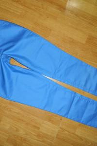 VILA niebieskie spodnie roz M...