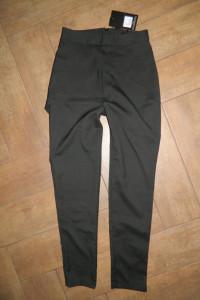 Missguided eleganckie czarne spodnie roz 36...