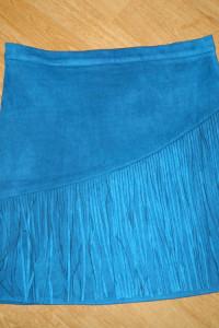 Missguided spódnica mini FRĘDZLE roz 40...