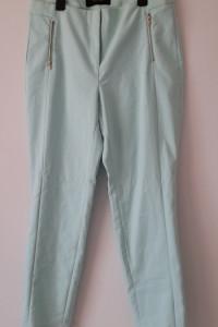 Reserved Miętowe eleganckie spodnie 44...