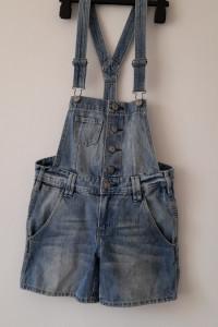 H&M Jeansowe krótkie ogrodniczki 158 cm 12 13 lat...
